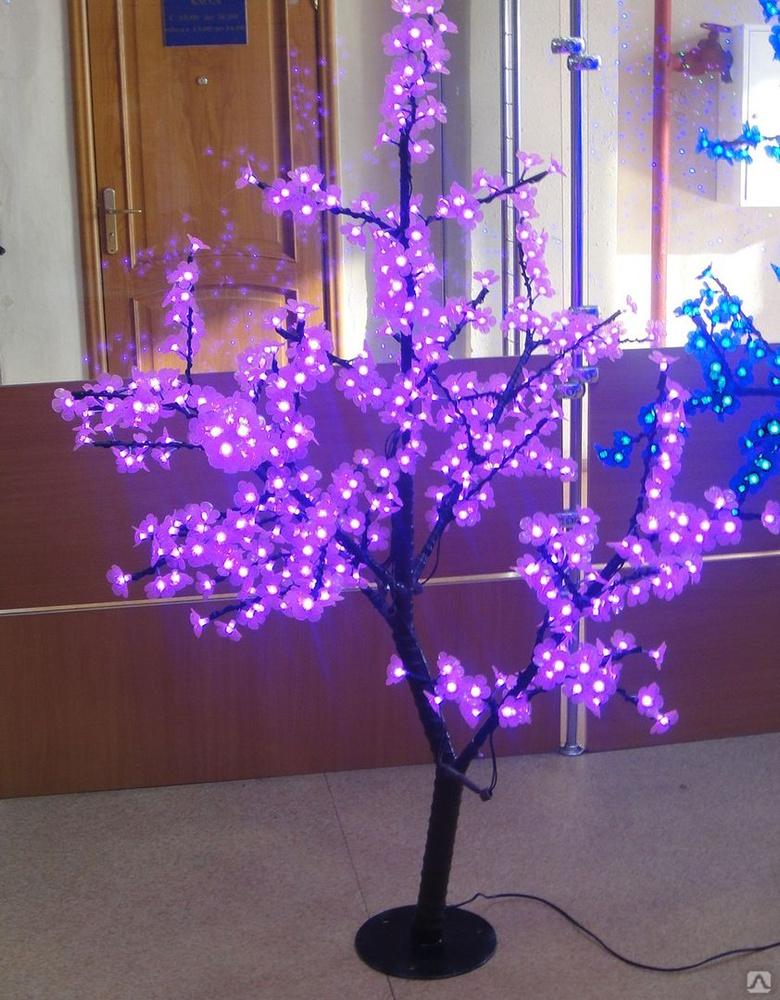 Дерево со светом своими руками