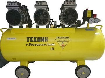 Компрессор ТЕХНИК СБ-2065 100л, 2,5 кВт 460л/мин, 8 атм, безмасл, безш