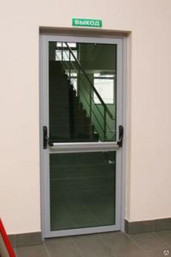 дверь противопожарная светопрозрачная Eiw 30 внутренняя